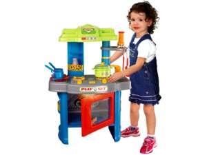 Világítós Játékkonyha #kék 31023797 Babakonyha / Játékkonyha