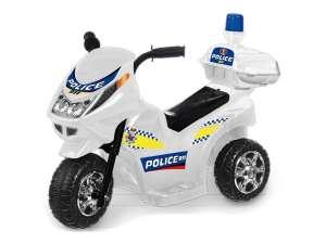 Elektromos háromkerekű Rendőrmotor #fehér 31036973 Elektromos jármű