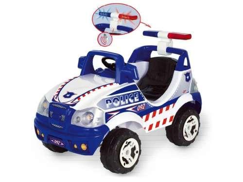 Elektromos rendőr Terepjáró #kék-fehér