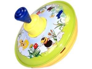 Kacsás fém búgócsiga - 13 cm 31028030 Pörgettyűs játék