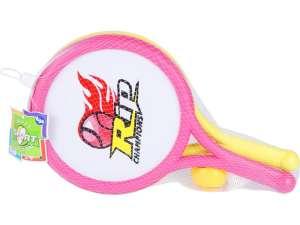 Teniszütő készlet labdákkal - 40 cm 31040840 Tenisz