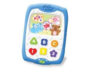 Zenélő-világító Játék telefon #fehér-kék 31040186 Fejlesztő játék babáknak
