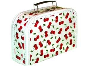 Ovis bőrönd - Cseresznye