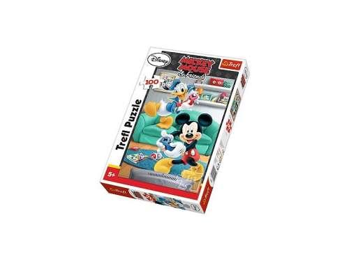 Trefl gyerek Puzzle 100db - Mickey Mouse 30833272