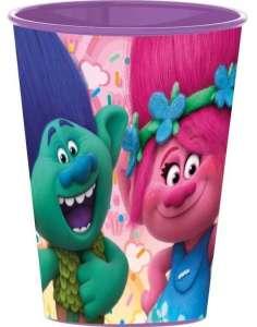 Műanyag Pohár - Trollok #lila 30833299 Itatópohar, pohár, kulacs