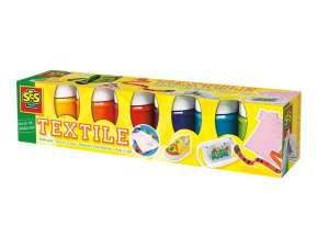 Ses Textilfesték 6db 31025657 Üveg és textil festék