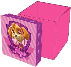 Mancs Őrjárat lányos játéktároló doboz 30833543 Játéktároló