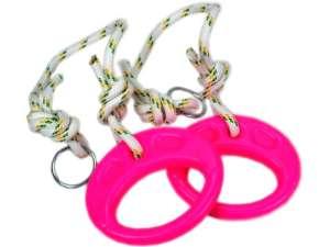 Műanyag tornagyűrű kötéllel - többféle 31034978 Sport és mozgás eszköz
