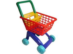 Bevásárló kocsi babaültetővel - 60 cm 31038060 Boltos játék, bevásárlás