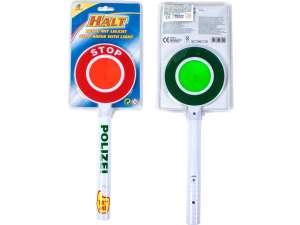 Világító forgalomirányító tárcsa #piros 31029007 Biciklis védőfelszerelés, kiegészítő