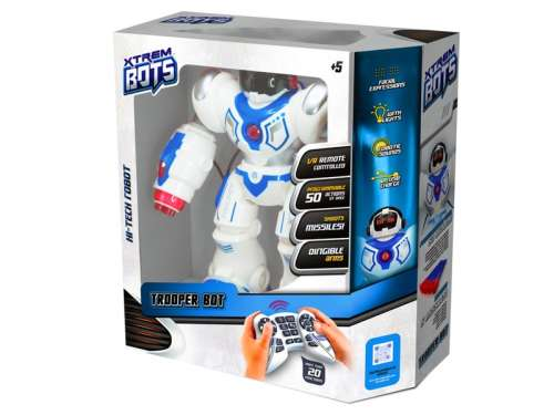 Xtrem Bots interaktív Robot 34cm - Harcirobot  31032364