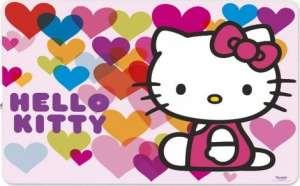 Tányéralátét - Hello Kitty #rózsaszín 30834175 Etetési kiegészítő