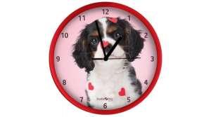 Falióra - Kutya #piros-rózsaszín 30834229 Falióra, ébresztőóra