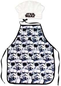 Gyerek Kötény - Star Wars #fehér-fekete 30834240 Babakonyha / Játékkonyha