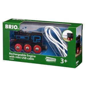 Elemes mozdony USB kábellel 30834751 Vonat, vasúti elem, autópálya