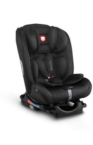 Lionelo Sander ISOFIX biztonsági Autósülés 0-36kg #fekete
