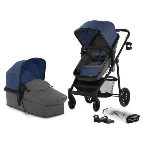 Kinderkraft Juli 2in1 Babakocsi #kék-szürke 30836397