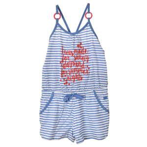 Boboli kék, csíkos rövid lány overál – 104 31065577 Overál