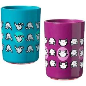 Tommee Tippee Pohár - Cica #lila-kék 30844596 Itatópohar, pohár, kulacs