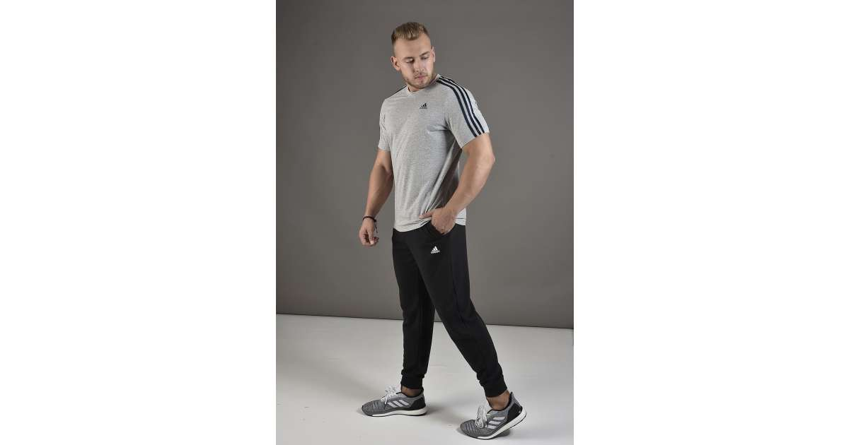 Adidas Performance Ess T Pnt Ft férfi Nadrág #fekete | Pepita.hu