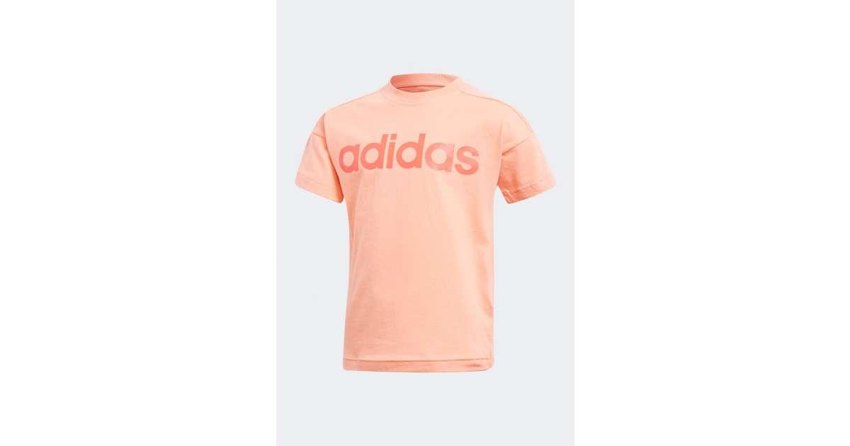 Adidas Performance Lk Lin Tee gyerek Póló #narancssárga | Pepita.hu