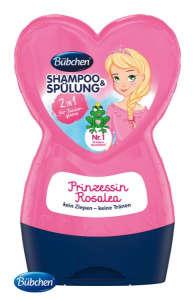 Bübchen Sampon és balzsam - Rózsa 230ml 30851414 Fürdetőszer