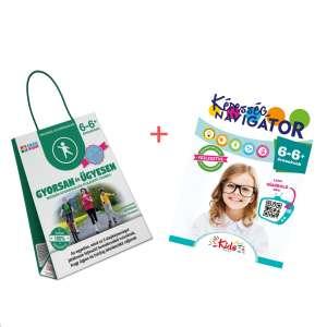 Képesség navigátor + Gyorsan és ügyesen termékcsomag 6-6+ éveseknek 30859805 Fejlesztő játék iskolásoknak