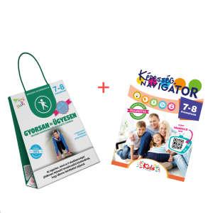 Képesség navigátor + Gyorsan és ügyesen termékcsomag 7-8 éveseknek 30859808 Fejlesztő játék iskolásoknak