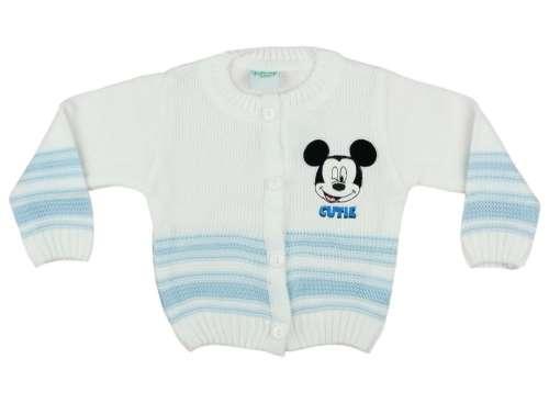 Disney kötött Kardigán - Mickey Mouse #fehér