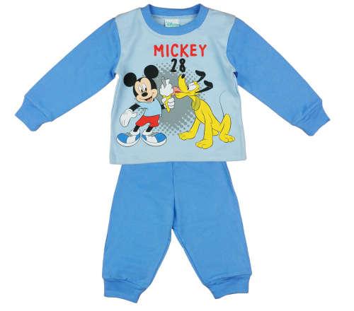 Disney kisfiú Pizsama - Mickey Mouse #kék