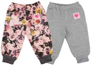 Lányka szabadidő Nadrág 2db - Szív 30870621 Gyerek nadrág, leggings