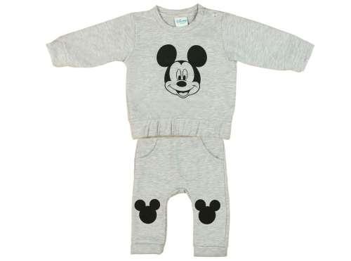 Disney bolyhos Szabadidő szett - Mickey Mouse #szürke