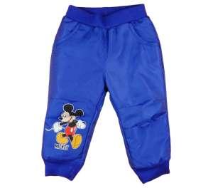 Disney bélelt vízlepergetős Nadrág - Mickey Mouse #kék 30874795 Gyerek esőkabát, esőruházat
