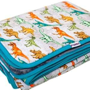 Kétrétegű mintás gyerek takaró 140 x 180 cm 30874926 Pléd, takaró