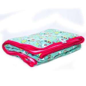 Kétrétegű mintás gyerek takaró 140 x 180 cm 30874959 Pléd, takaró