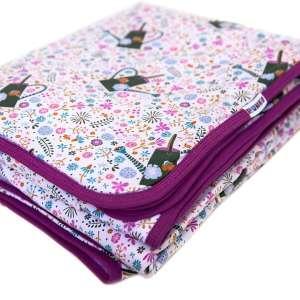 Kétrétegű mintás gyerek takaró 140 x 180 cm 30874962 Pléd, takaró