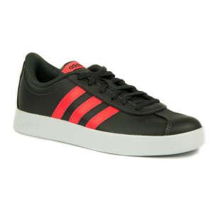 Adidas Vl Court 2.0 K Junior gyerek Sportcipő #fekete-piros 31248202 Adidas Utcai - sport gyerekcipő
