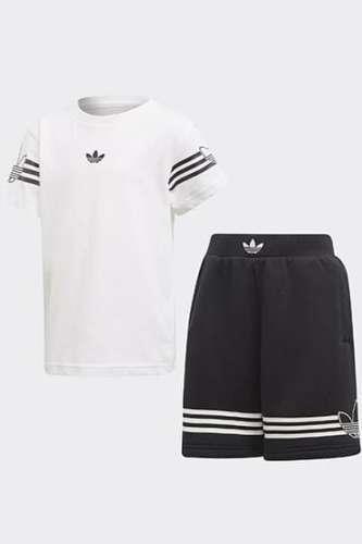Adidas Originals Outline Tee Set #fekete-fehér