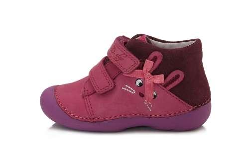 D.D.Step lány tépőzáras Utcai cipő #rózsaszín