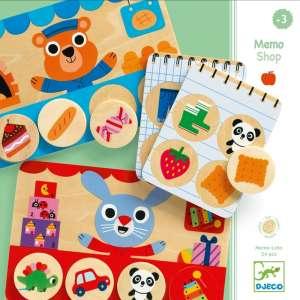 Képeslottó - Bevásárló - Memo Shop 30882716 Memória játék