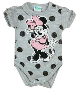 Disney rövid ujjú body - Minnie Mouse #szürke 30884180 Body