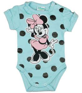 Disney rövid ujjú Body - Mickey Mouse #kék 30884182 Body