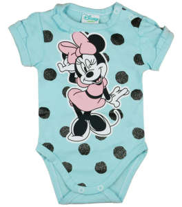 Disney rövid ujjú Body - Mickey Mouse #kék 30884184 Body