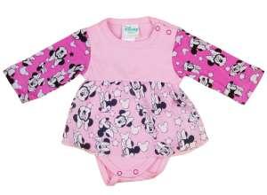 Disney hosszú ujjú Body - Minnie Mouse #rózsaszín 30884376 Body