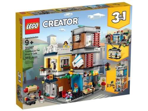 LEGO® Creator Kisállat kereskedés és kávézó 31097 31044220
