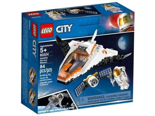 LEGO® City Műholdjavító küldetés 60224