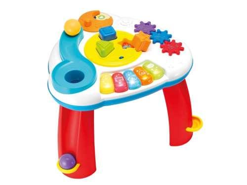 Foglalkoztató Játék asztal #piros-fehér