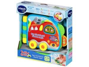 V-Tech zenélő Játék - Autó #kék-piros 31035658 Fejlesztő játék babáknak