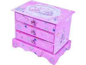 Pónis fiókos tárolódoboz 31025129 Zenélő doboz