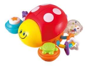 Készségfejlesztő Játék - Katica #sárga-piros 31034810 Fejlesztő játék babáknak